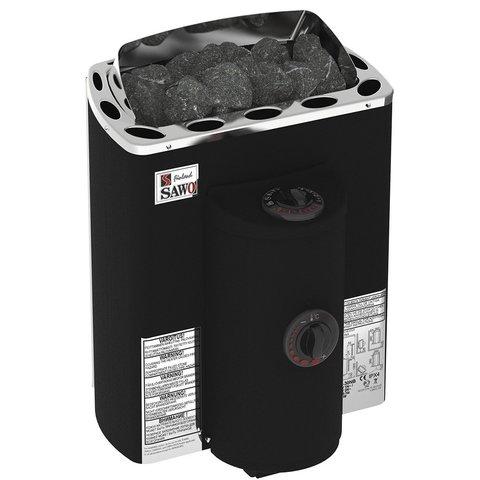 Электрическая печь SAWO COATED, MINI X MX-36NB-P-F (3,6 кВт, встроенный пульт, термопокрытие)