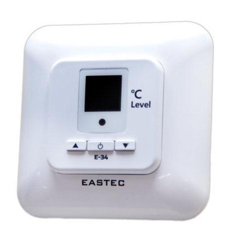 Терморегулятор для теплого пола EASTEC (ИСТЭК) E - 34 (Встраиваемый 3,5 кВт) аналог UTH 150. EASTEC E-34