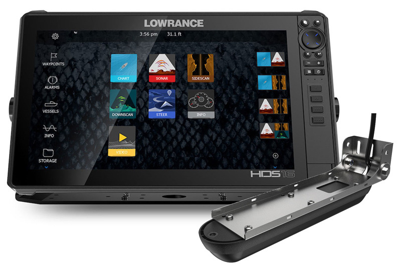 Lowrance HDS-16 Live с датчиком Active Imaging 3-in-1