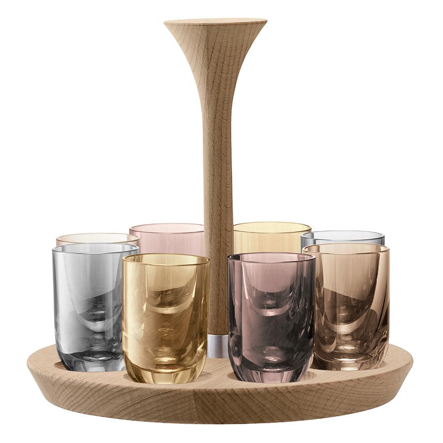 Фото - Набор для водки LSA International Polka, 60 мл набор для водки дуэль