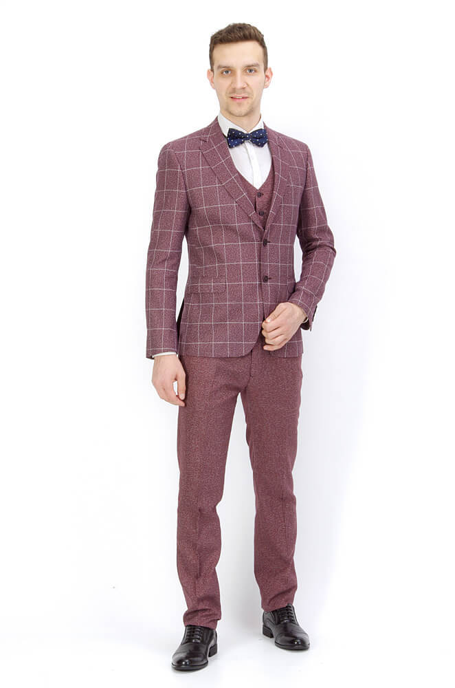 Костюмы Slim fit ANTONIO ROSSI / Костюм-тройка slim fit IMGP8946.jpg