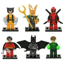 Минифигурки Супергерои серия 001