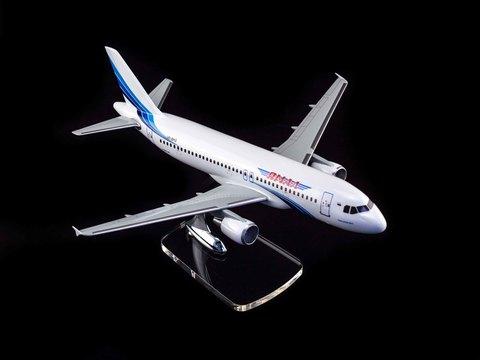 Модель самолета Airbus 320 (М1:100, Ямал)
