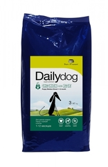 Сухой корм DailyDog Puppy Medium Breed для щенков средних пород с курицей и рисом 12 кг