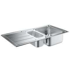 Мойка кухонная с двумя чашами Grohe 31572SD0 фото