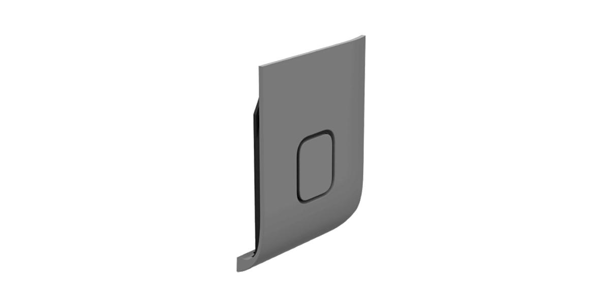 Запасная крышка Replacement Door HERO7 Silver (ABIOD-001) без камеры