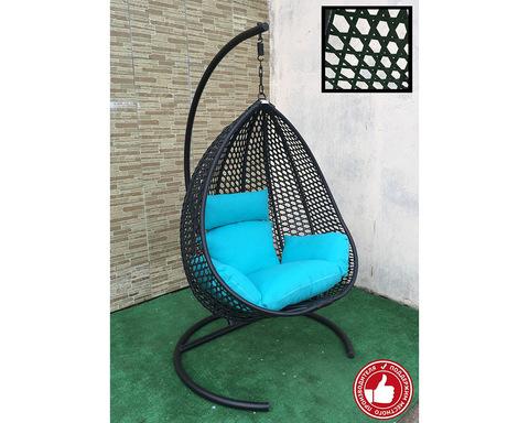 Подвесное кресло Сакала Cross черное