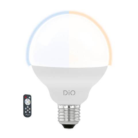 Лампа LED, СCT с измен. темп-ры цвета с пультом ДУ Eglo ACCESS LM-LED-E27 1X12W 1055Lm 2700-6500K  11811
