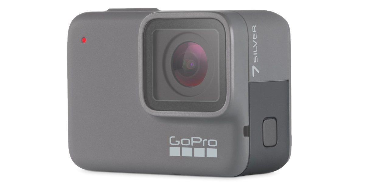 Запасная крышка Replacement Door HERO7 Silver (ABIOD-001) на камере вид со стороны
