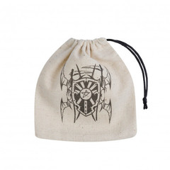 Vampire Beige & black Basic Dice Bag