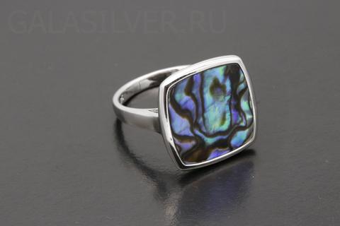 Кольцо с гелиотисом из серебра 925