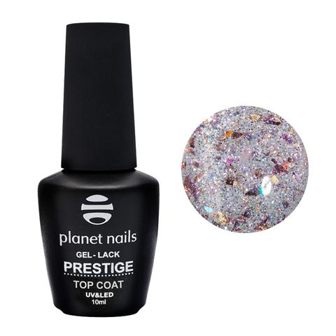 Planet Nails, Гель-лак Prestige Top Shine Venus без липкого слоя, 10 мл
