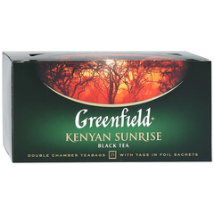 "Чай чёрный ""Greenfield"" Kenyan Sunrise 25*2г"