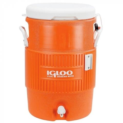 Изотермический контейнер (термобокс) Igloo 5 Gal (18 л.), оранжевый