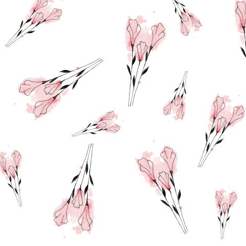 Акварельные цветы 2