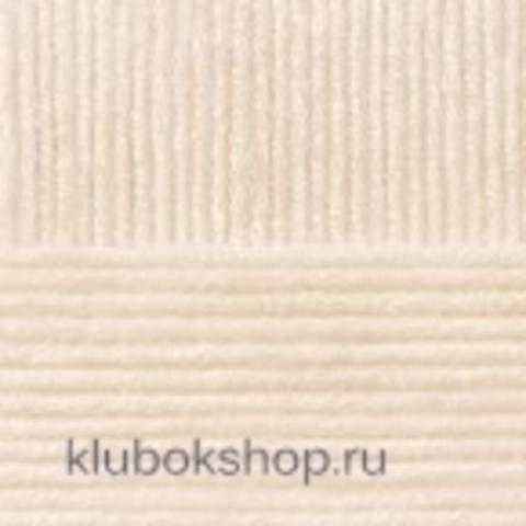 Пряжа Детская объемная (100 г/ моток) Пехорка 442 Натуральный - купить в интернет-магазине недорого klubokshop.ru
