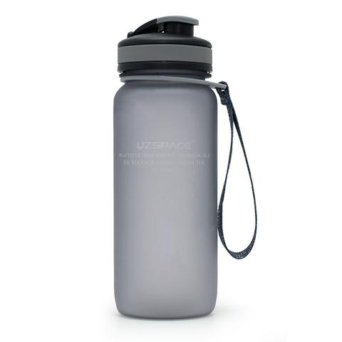 Бутылка для воды Uzspace (матовый серый), 650 мл