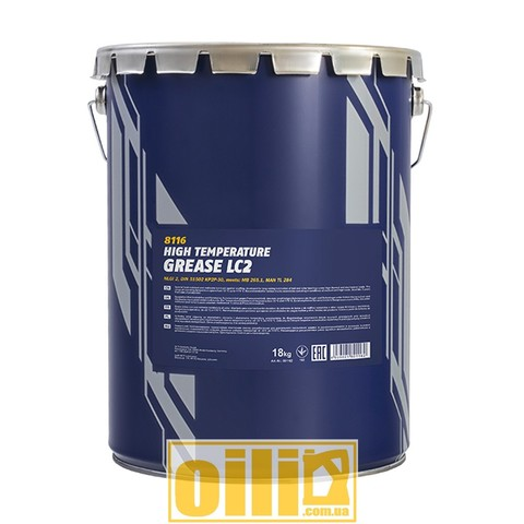 Mannol 8116 LC-2 HIGH TEMPERATURE GREASE 18кг