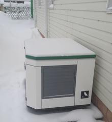Домик для генератора SB1200DM на улице
