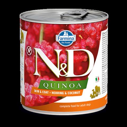 Farmina Dog Quinoa Herring & Coconut Консервы для собак с Сельдью, киноа и кокосом