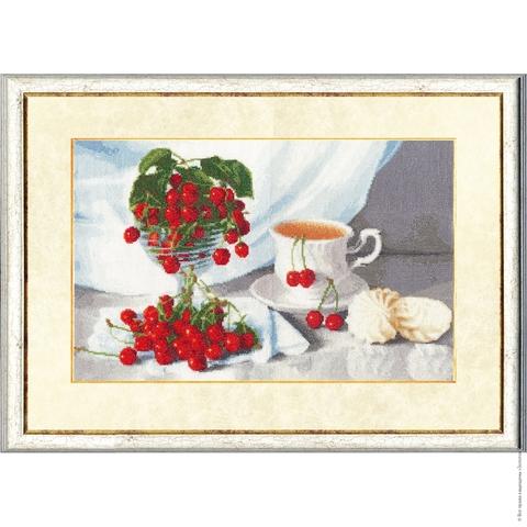 Размер: 24,9х39,4 см;¶Канва: Аида кремовая 16;¶Вышивается крестом в 2 нити;¶Количество цветов: 39;