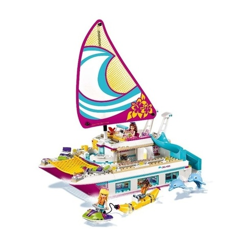 LEGO Friends: Катамаран Саншайн 41317 — Sunshine Catamaran — Лего Френдз Друзья
