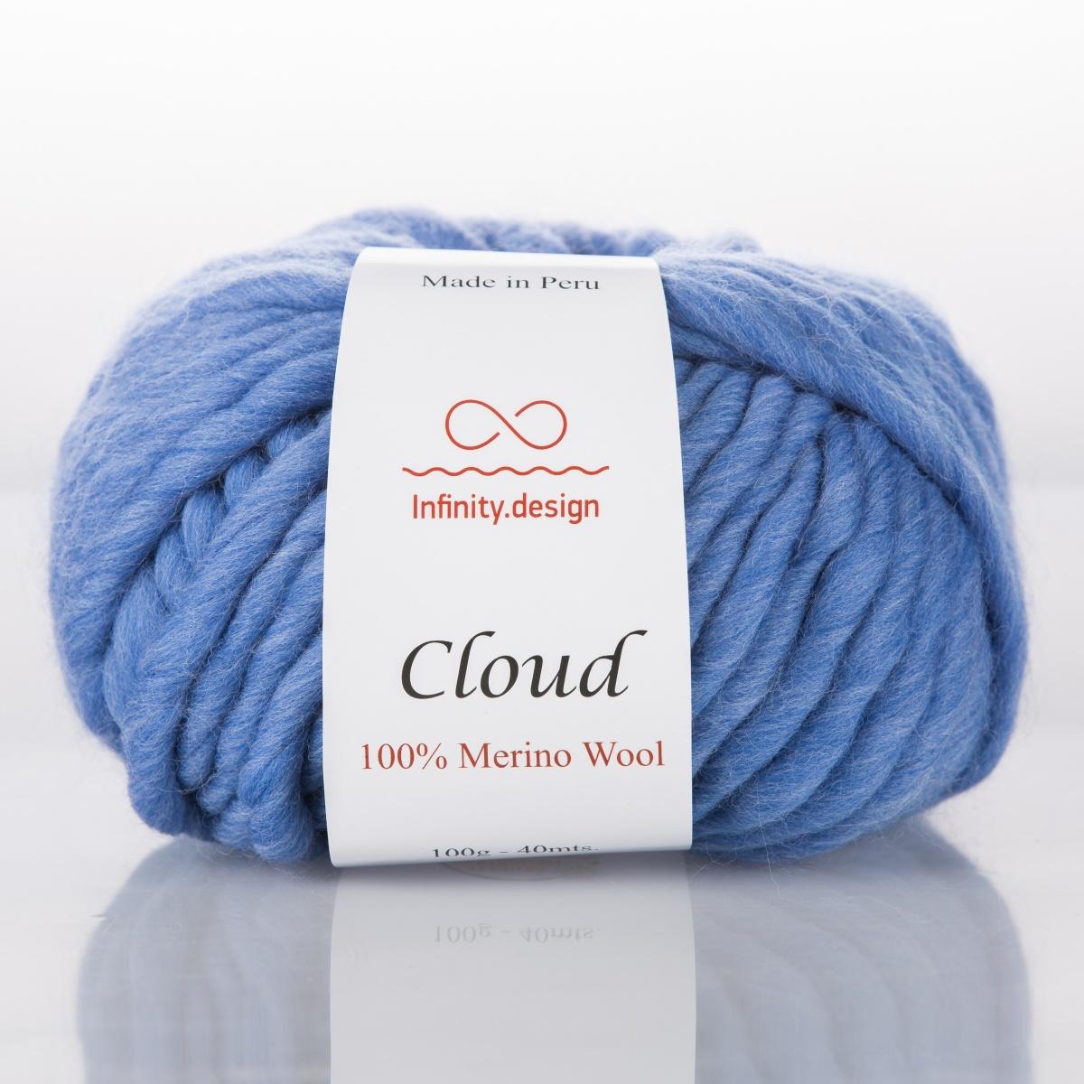 Пряжа Infinity Cloud 0096 джинс