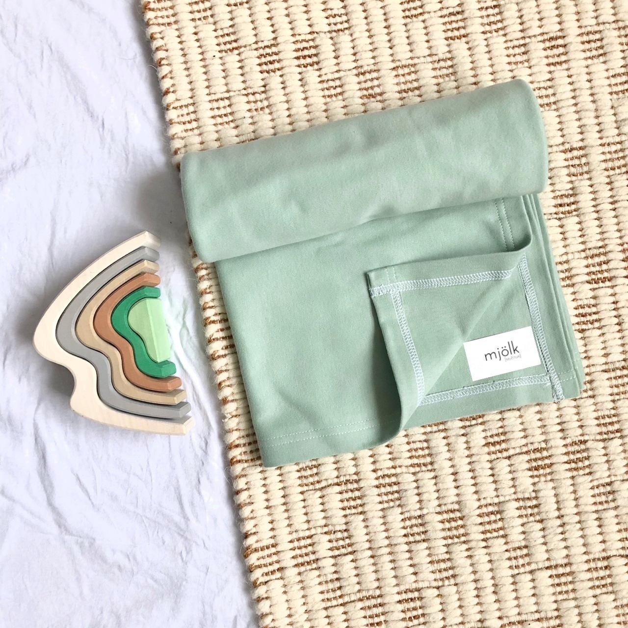 Пеленка Mjölk Magic Mint Swaddle