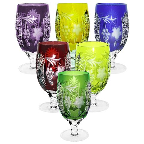 Бокал Ice Tea 450 мл артикул 1/emerald/64573. Серия Grape