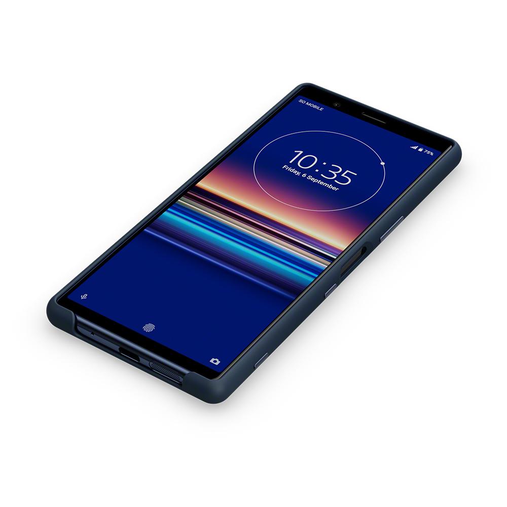 SCBJ10AM/L синий чехол для Xperia 5 купить в Sony Centre Воронеж