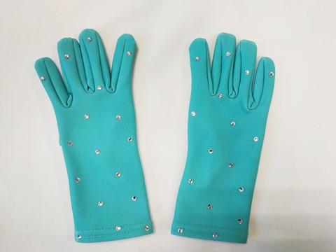 Перчатки из термоткани для фигурного катания