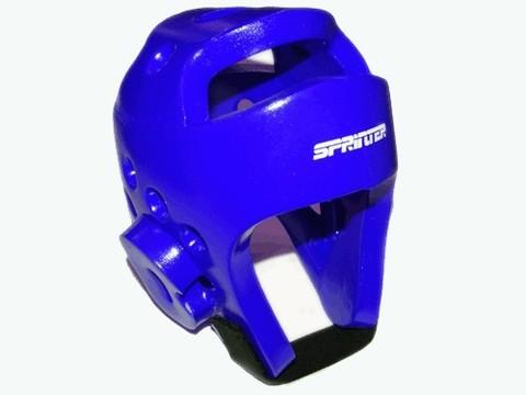 Шлем для тхеквондо. Размер М. Цвет синий. :(ZTT-002С-М):