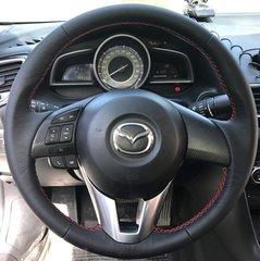 Перетяжка руля для Mazda 2-III (2015-2017)