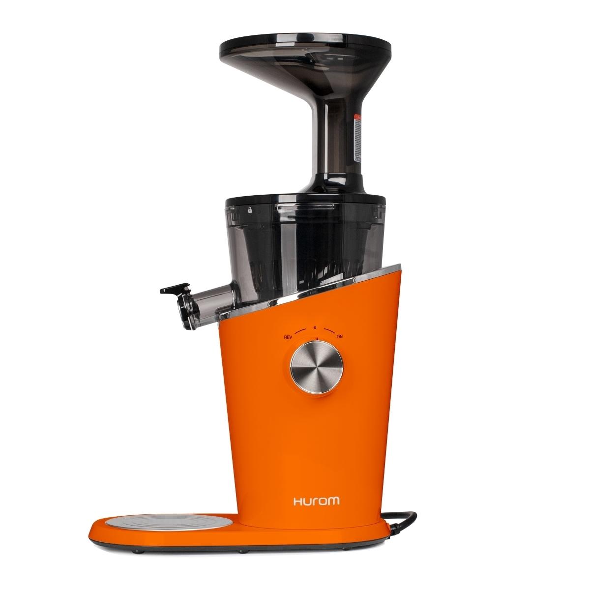Соковыжималки Соковыжималка Hurom H-100-OBEA01, 4 поколение, оранжевый Hurom_h-100_orange_main.jpg