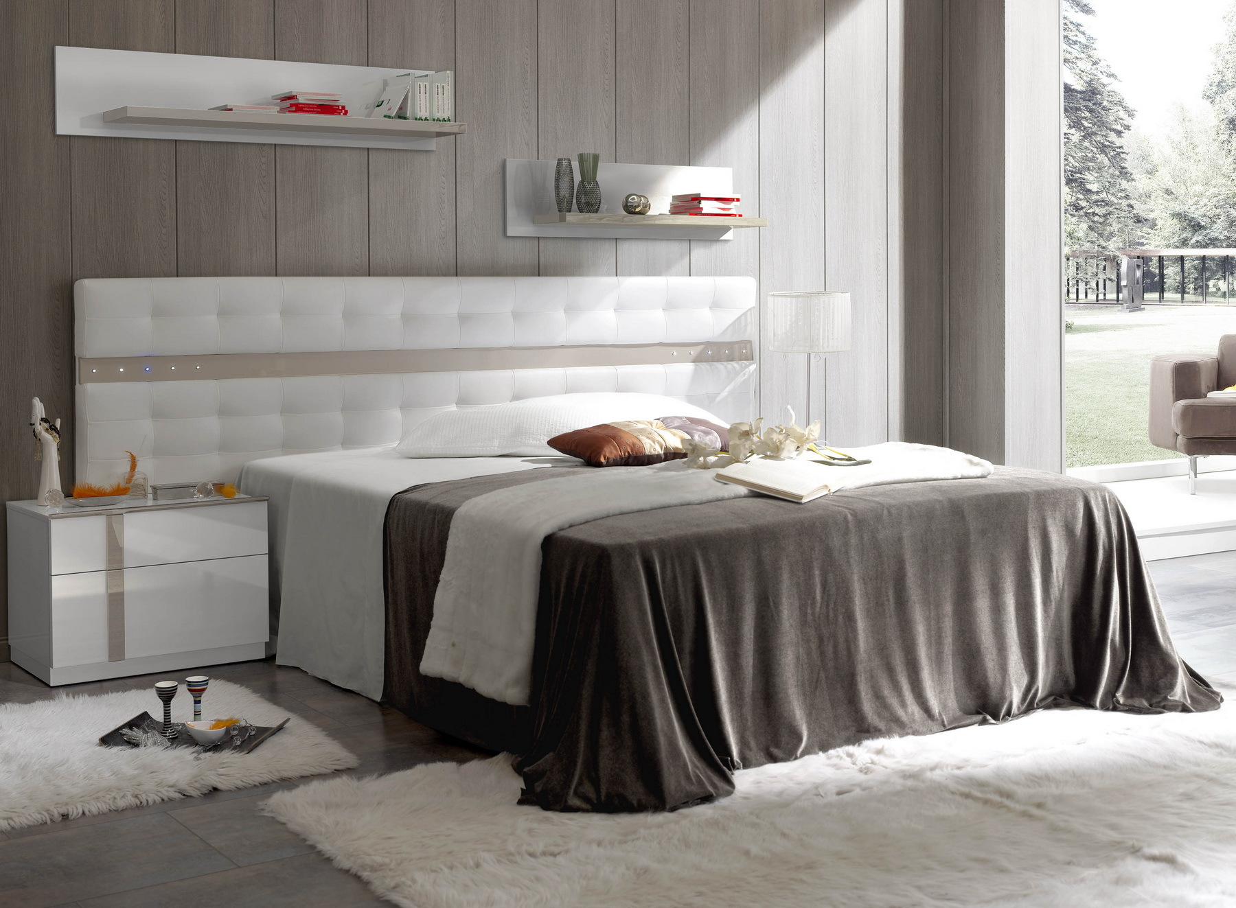 Кровать Fenicia Mobiliario 209 Merida