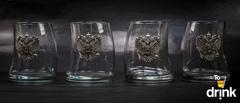 Подарочный набор стаканов для виски «Русский мамонт», фото 5