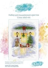 А-018 Новогодняя дверь