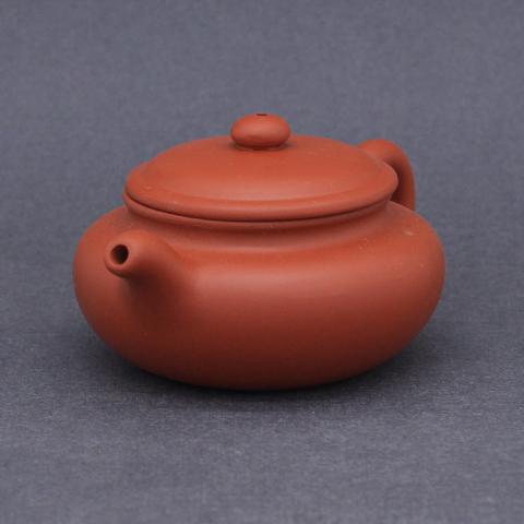 Чайник из исинской глины, 250мл, штамповка,130003