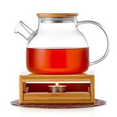 Чайник с подогревом свечой