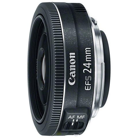 Объектив Canon EF-S 24mm f/2.8 STM Black для Canon