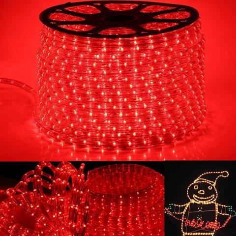 Светодиодный красный шланг дюралайт купить LED