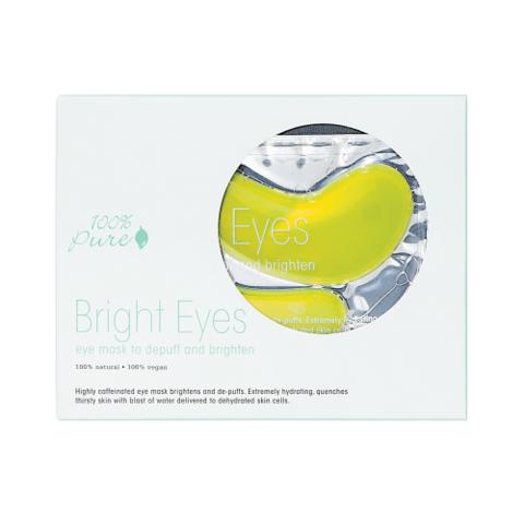 100% Pure. Набор восстанавливающих масок для глаз: Сияние (5 шт.)