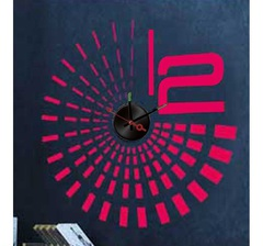 Часы-наклейка 1*AА батарея (в комплект не входит), NL28 (Feron)