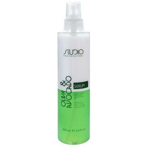Kapous, Двухфазная сыворотка для волос с маслами авокадо и оливы, 200мл