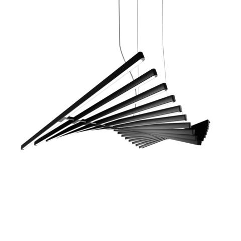 Подвесной светильник Rhythm by Vibia L145 (черный)