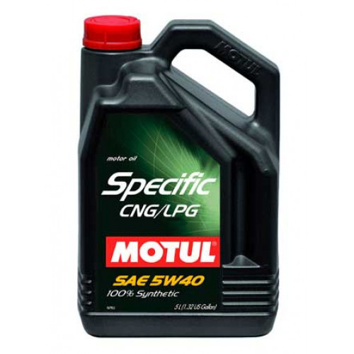 Motul Specific CNG/LPG 5W40 Синтетическое моторное масло