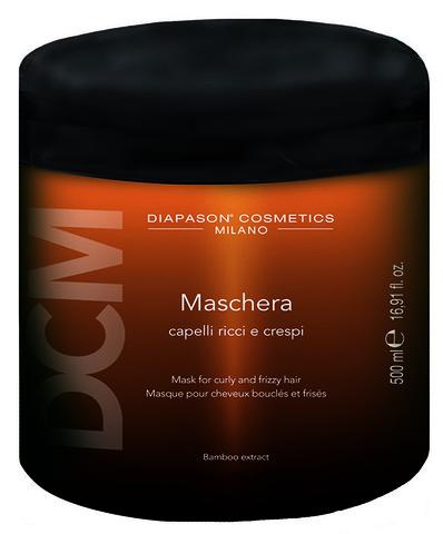 DCM Маска для вьющихся и кудрявых волос с экстрактом бамбука 500 мл diapason