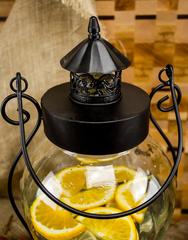 Стеклянный диспенсер для напитков «Кантри Фонарь», 5 литров, фото 3