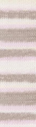 Пряжа Alize Baby Best Batik 6656 бежево-розовый