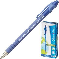 Ручка шариковая автоматическая Paper Mate Flex Grip синяя (толщина линии 0.8 мм)